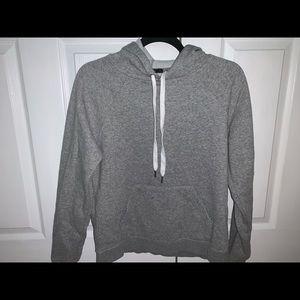 heather gray warm comfy sweatshirt!